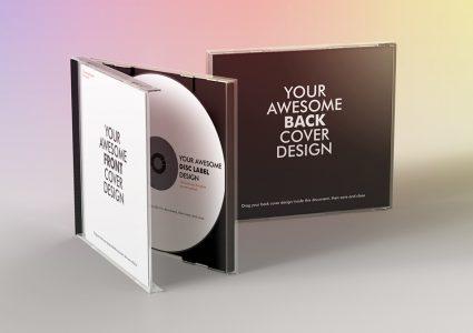 Мокап CD-диска