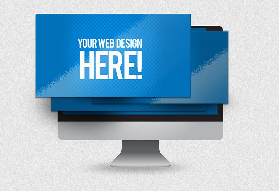 Мокап веб-сайта