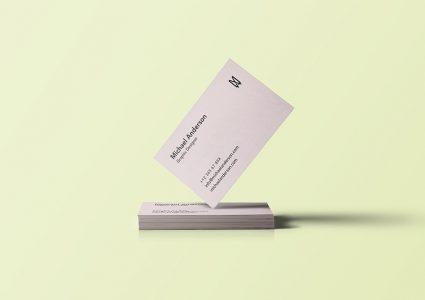 Мокап визиток