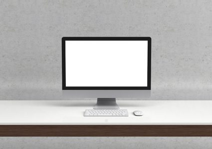 Мокап компьютера