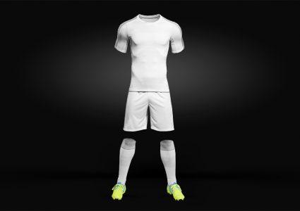 Мокап футбольной формы