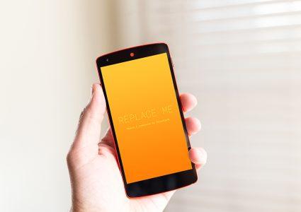Мокап планшета и телефона