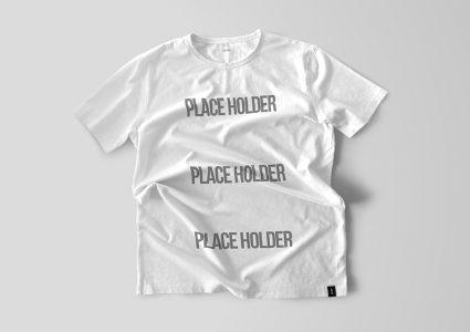 Мокап белой футболки