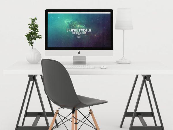 white-workspace-mockup