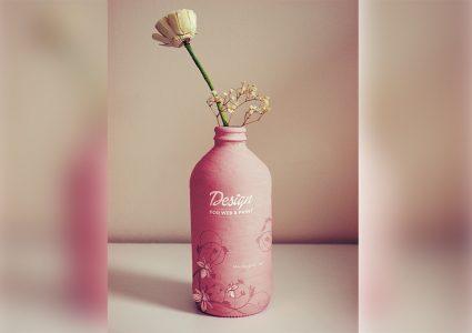 Мокап вазы