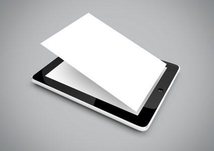 Мокап планшета