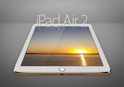 Мокап iPad Air 2