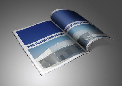 Мокап журнала