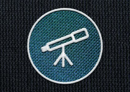 Мокап логотипа на ткани