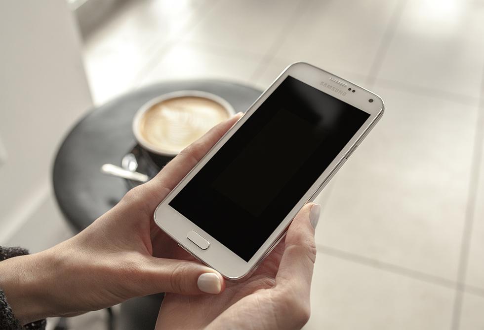 Galaxy S5 Mockup