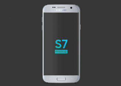 Мокап Samsung Galaxy S7