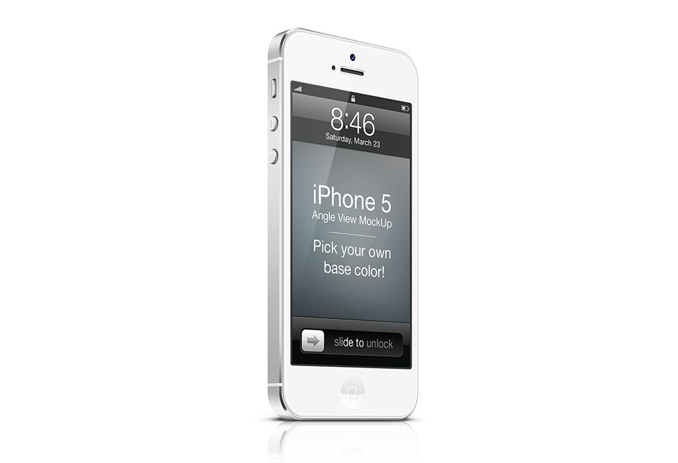 Мокап iPhone 5