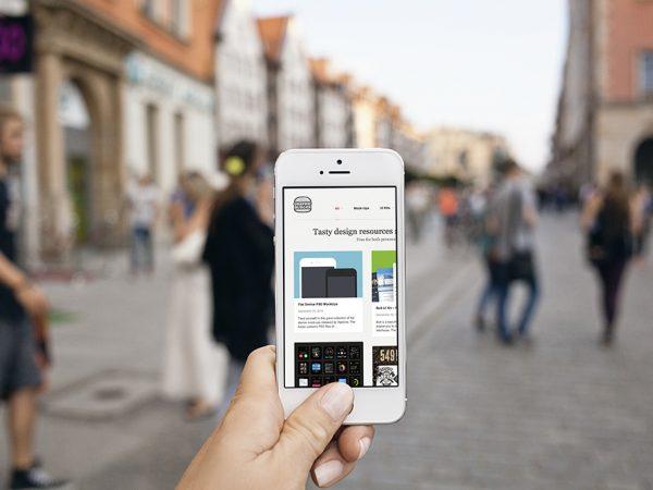 Мокап iPhone 5s
