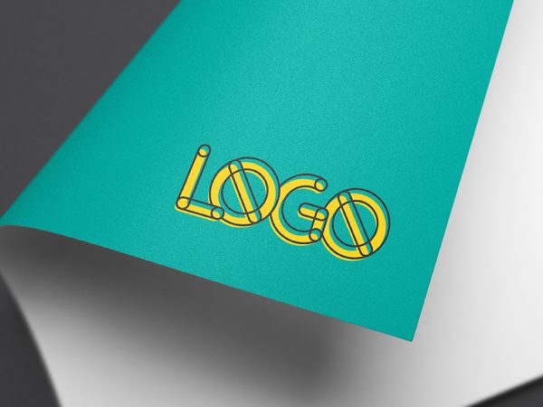 Full Color Logo MockUp