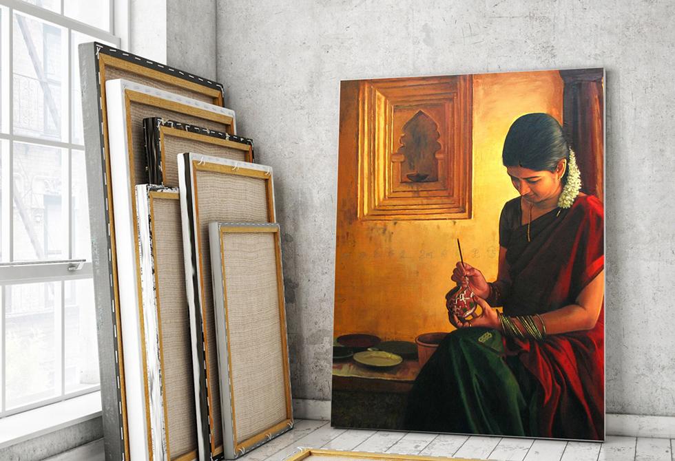 Canvas Mockup
