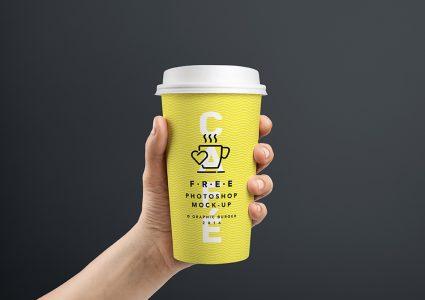 Мокап стаканчиков для кофе
