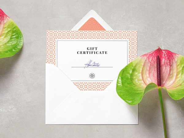Card Envelope MockUp