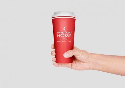 Мокап стаканчика для кофе