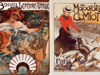 Стиль графического дизайна Art Nouveau