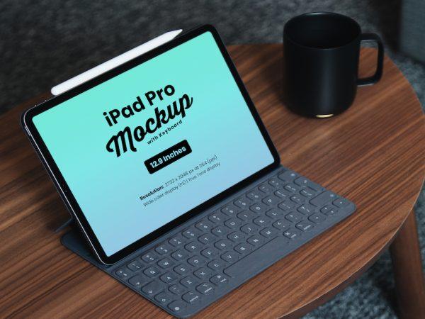 Мокап iPad Pro