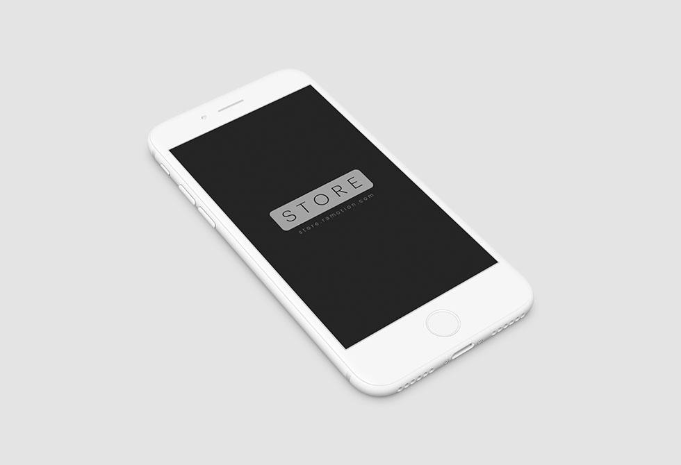 Мокап Iphone 7