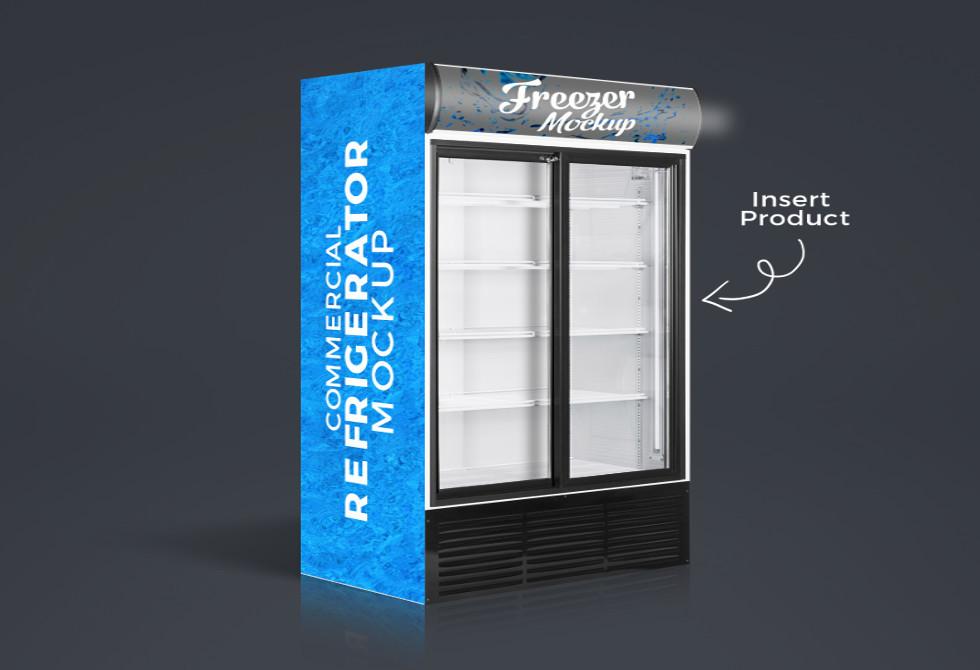 Мокап холодильника