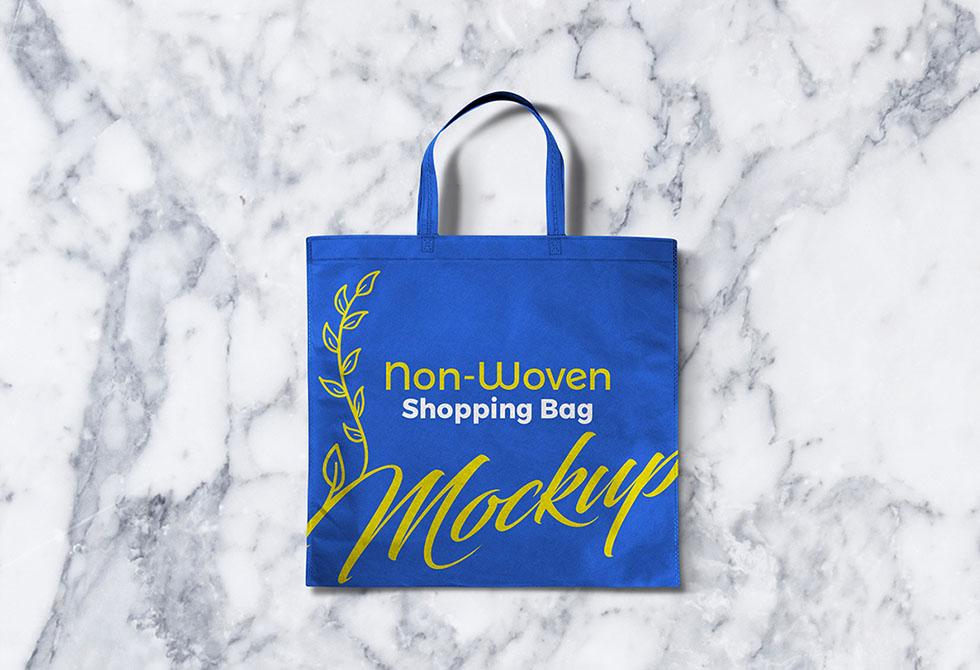 Мокап сумки для покупок