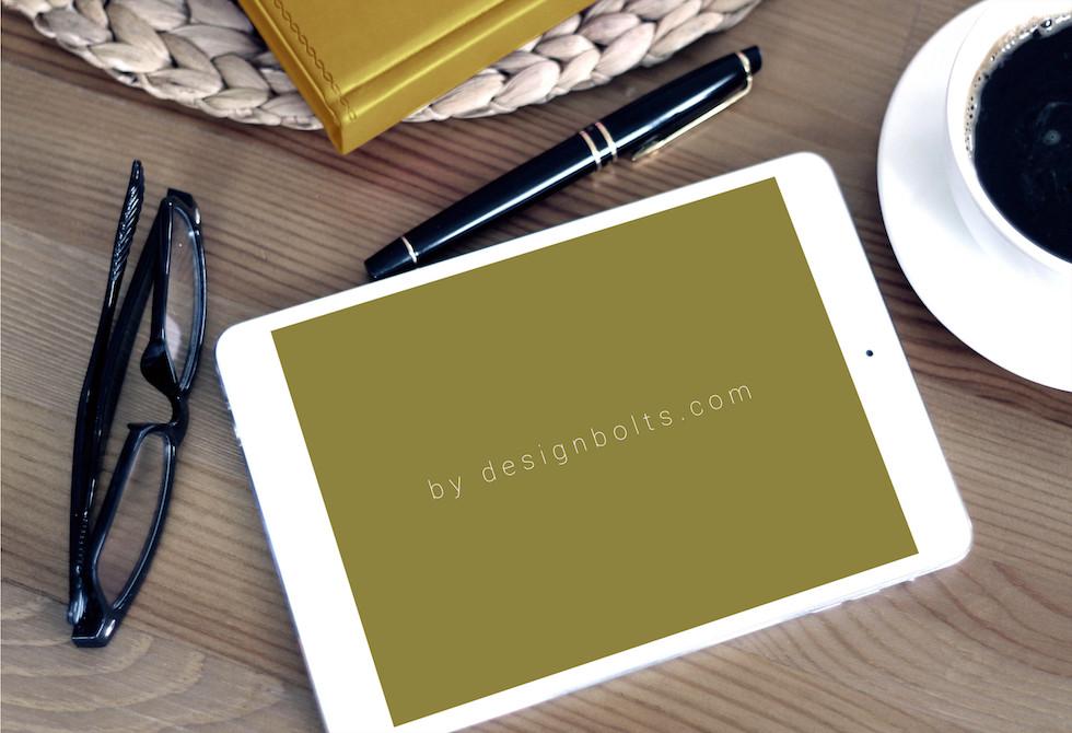 Мокап фотоальбома iPad