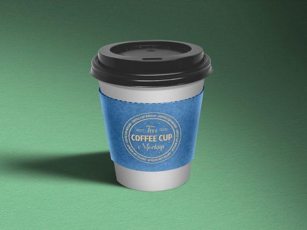 Мокап стаканчика кофе