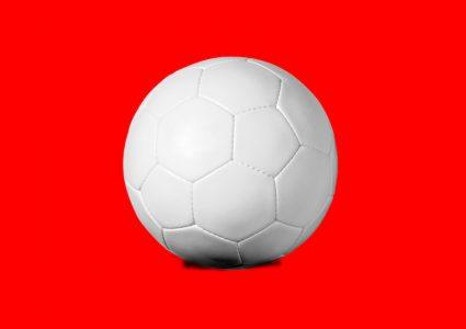 Мокап футбольного мяча