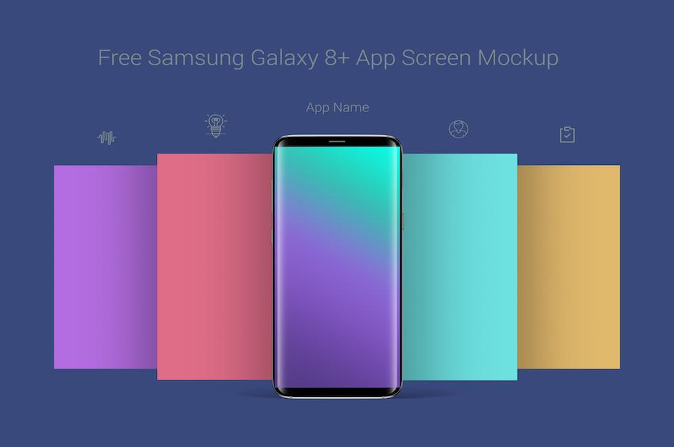 Мокап Samsung Galaxy S8
