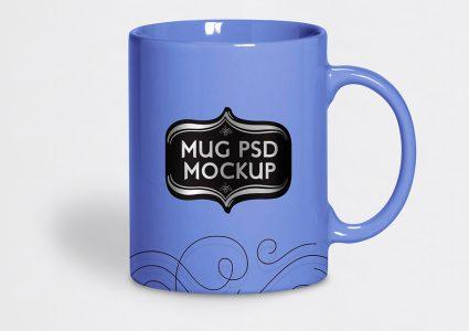Мокап чайной чашки