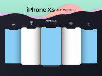 Мокап  iPhone XS App