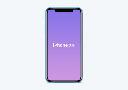 Мокап  iPhone XR