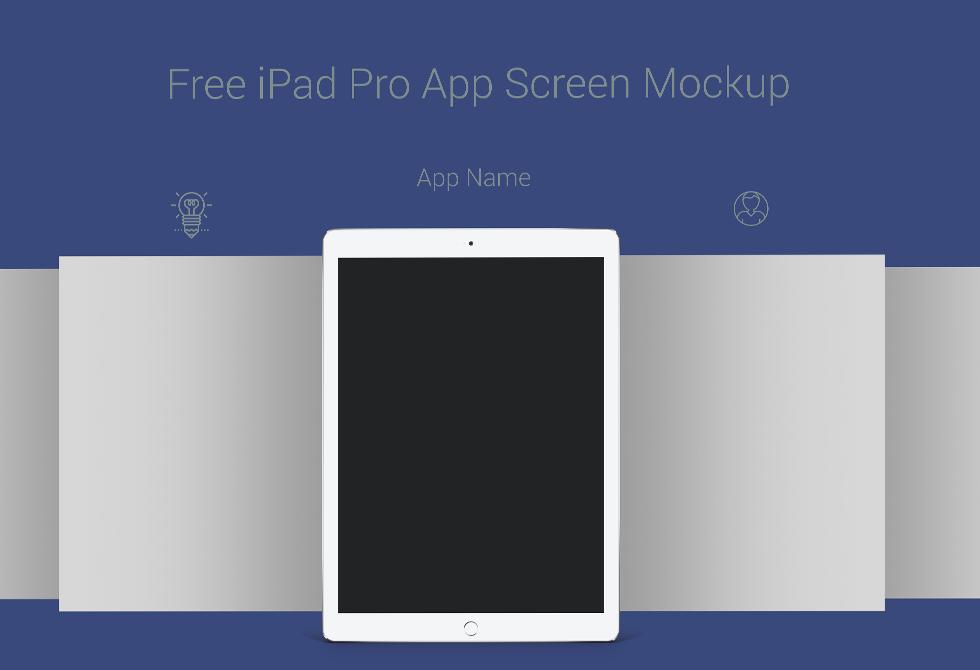 Мокап Apple iPad Pro App