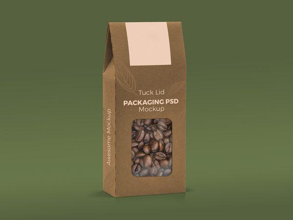 Мока упаковки кофе