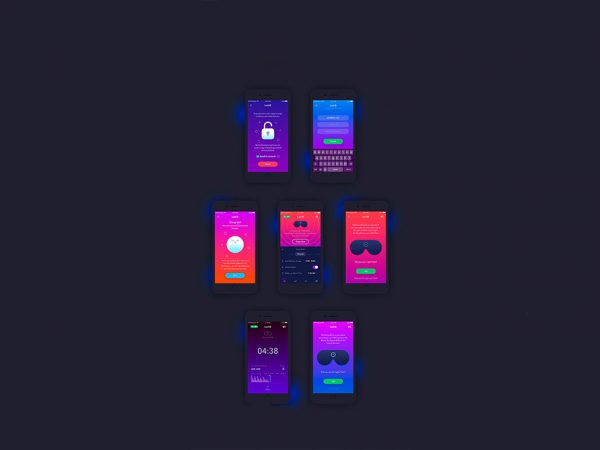 Мокап iPhone 6 & 7 App UI