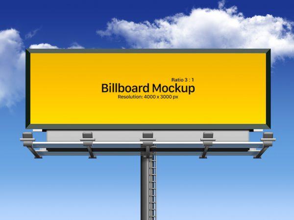 Мокап билборда