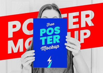 Мокап постера