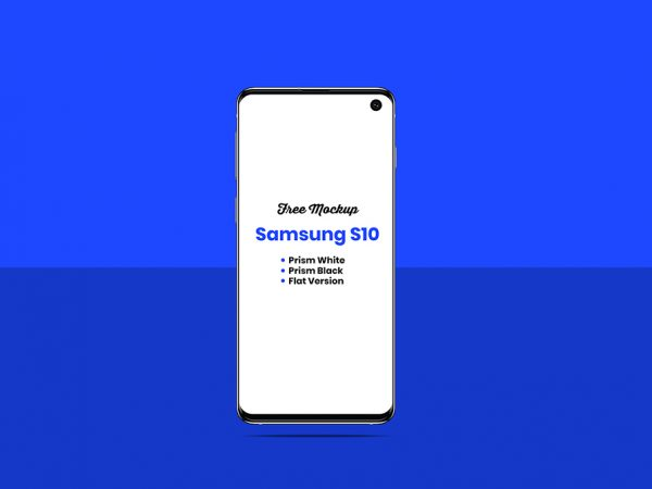 Мокап Samsung Galaxy S10