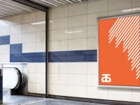Мокап в метро