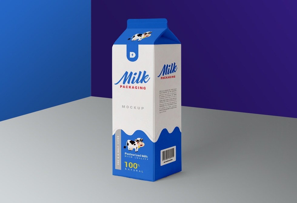 Мока пакета молока
